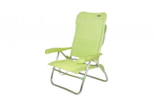 Crespo silla-cama playa AL/223-M verde
