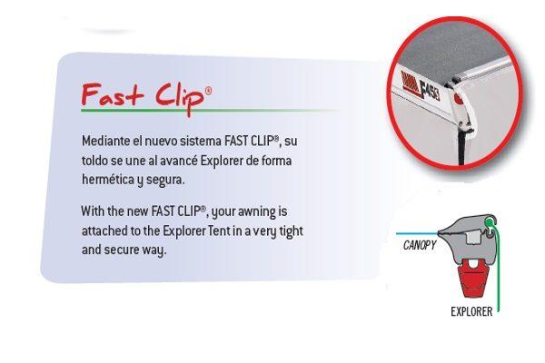 Fast Clip Fiamma